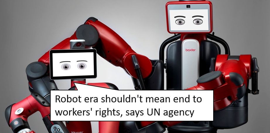 Workers Rights when the robots take over.